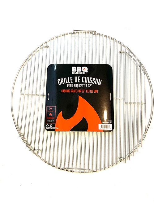 BBQ Québec - Grille de Cuisson pour weber 22 po