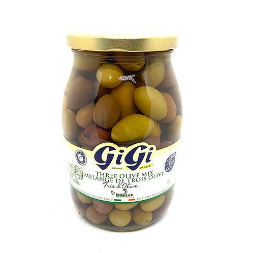 Mélange de 3 Olives - 1L