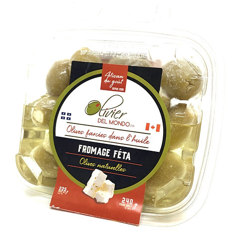 Olives farcies - Fromage feta