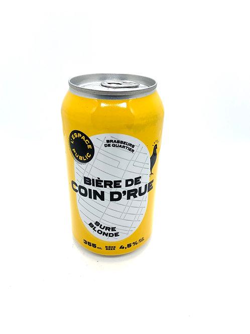 Bière de coin de rue - Sûre Blonde