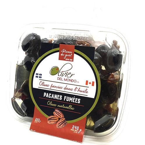 Olives farcies - Pacanes fumées