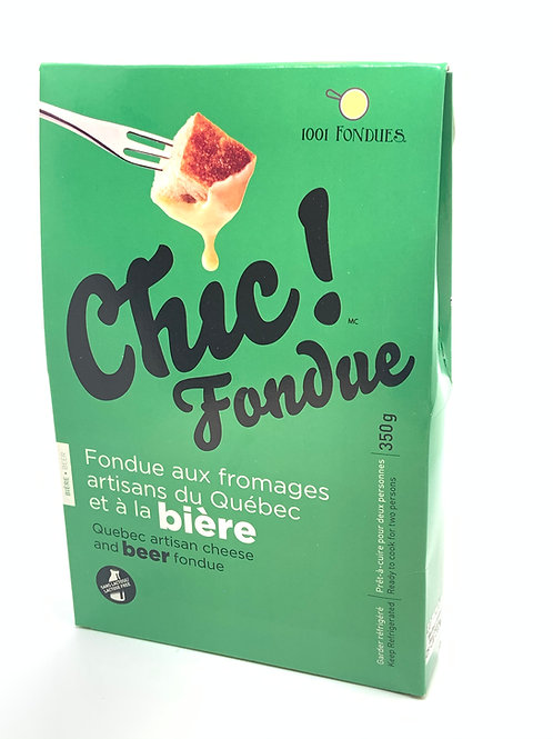 Chic fondue au fromages et à la bière (350g)
