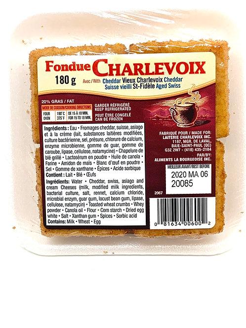 Fondue Charlevoix - Vieux Cheddar et suisse (180g)