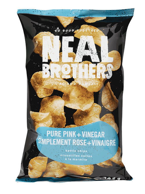 Neal Brothers croustilles - Simplement rose + Vinaigre