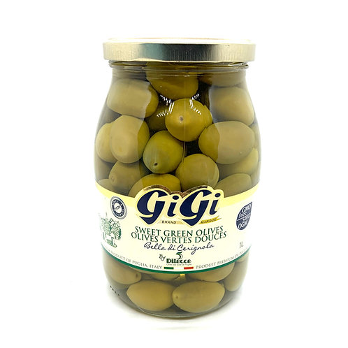 Olives vertes douces - 1L