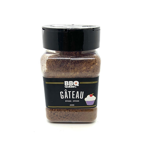 BBQ Québec - Gâteau