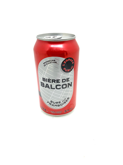 Bière de Balcon - Sûre aux Framboises