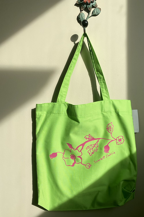 Poppies - Tote Bag (multiple colour options)