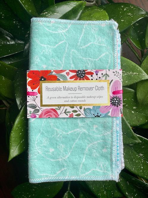 Reusable Makeup Wipe Cloths (7 pack) (Multiple colour options)