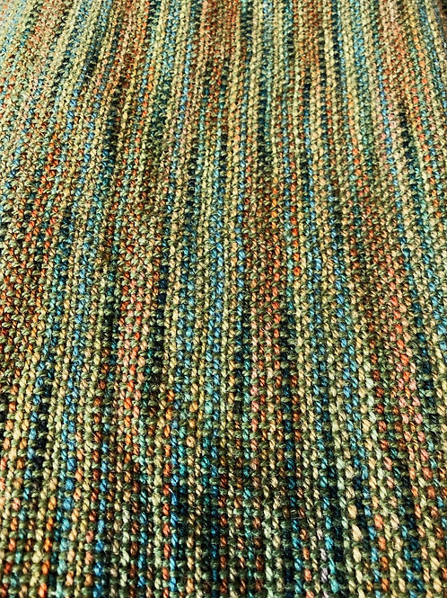 HAND-DYED Handwoven oversized scarf/shawl