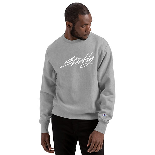 Champion X Starkly Sweatshirt (White text)