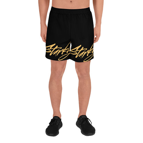 Men's Athletic Shorts (Gold text)