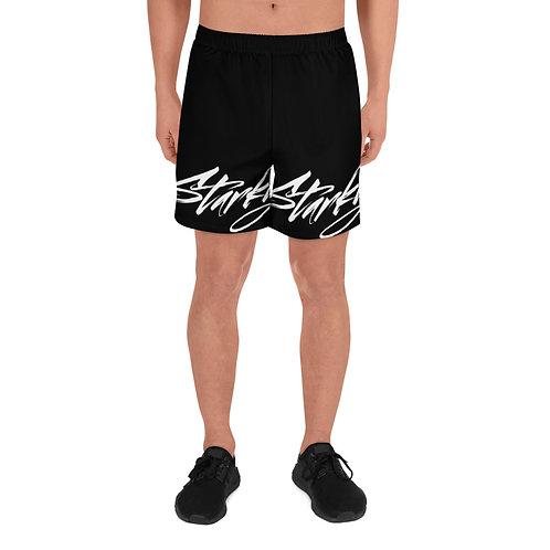 Men's Athletic Shorts (White text)