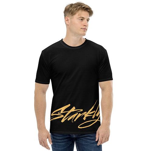 Starkly T-shirt (Gold text)