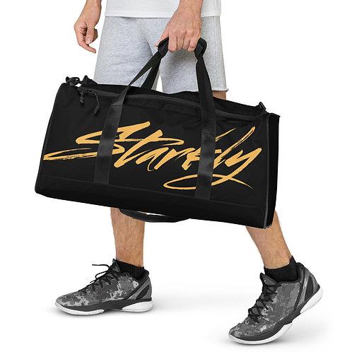 Duffle bag (Black & Gold)