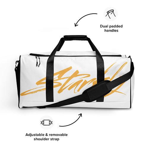 Duffle bag (White & Gold)