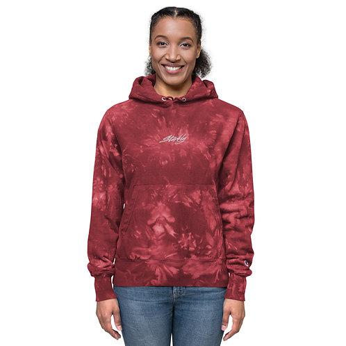 Unisex Starkly x Champion tie-dye hoodie