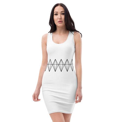Sublimation Diamond Dress (Black Diamond)