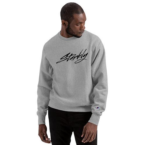 Champion X Starkly Sweatshirt (Black text)