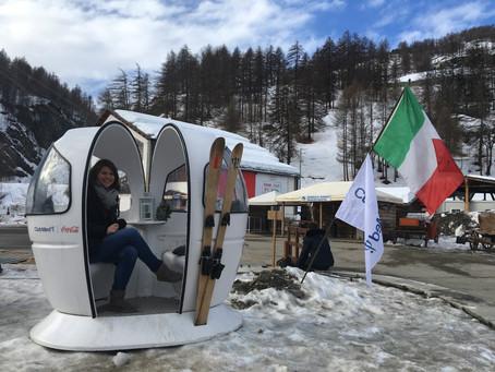 Pragelato: Dolce Vita auch beim Skifahren