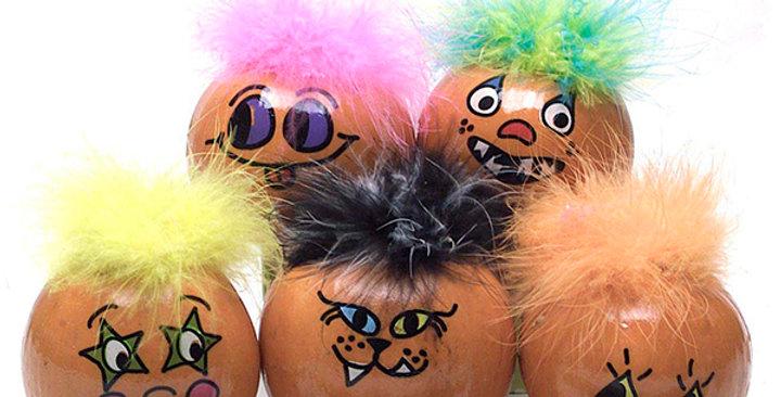 Ornamental Pumpkins (Hairy)