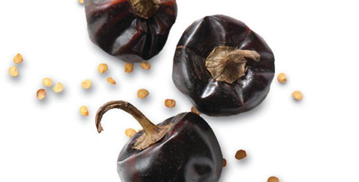 Dried Peppers (Cascabel)