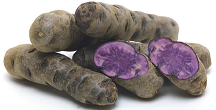 Potatoes (Fingerling, Purple Peruvian)