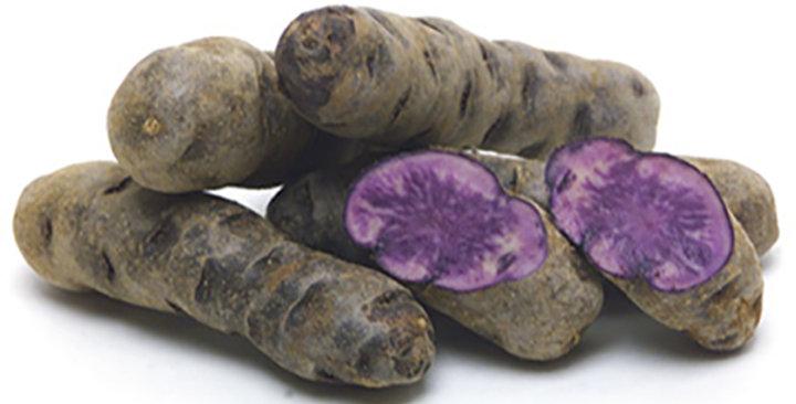 Potatoes (Fingerling, Purple Peruvian)