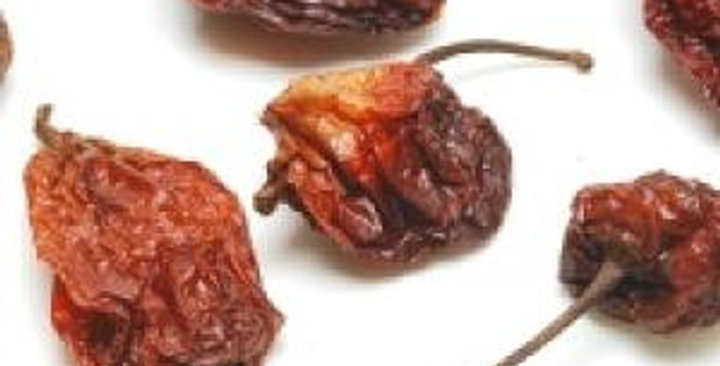 Dried Peppers (Bhut Jolokia/Ghost)