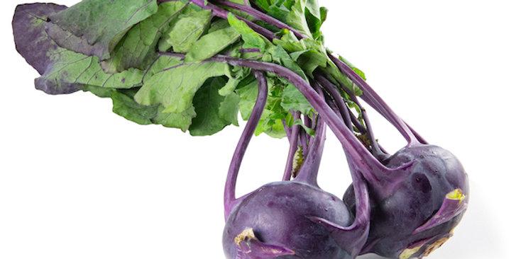 Kohlrabi (Purple)