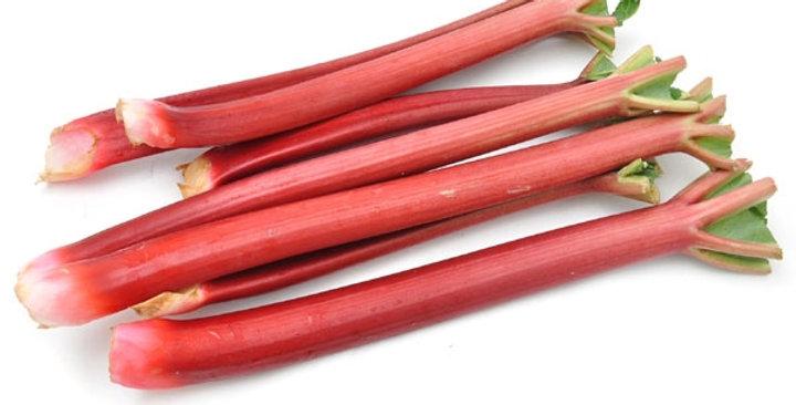 Organic Rhubarb (Field)