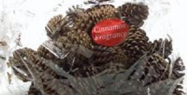 Ornamental Pine Cones (Scented)