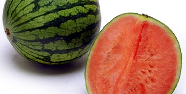 Organic Watermelon (Mini, Red Seedless)