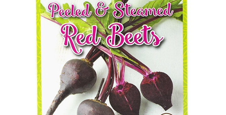Organic Peeled & Steamed Red Beets