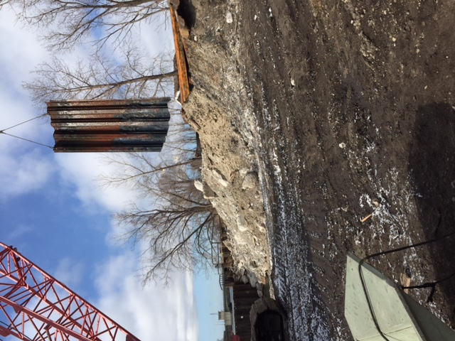 Sheet pile removal
