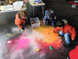 Yeladenu Muswell Hill Nursery Outside Play