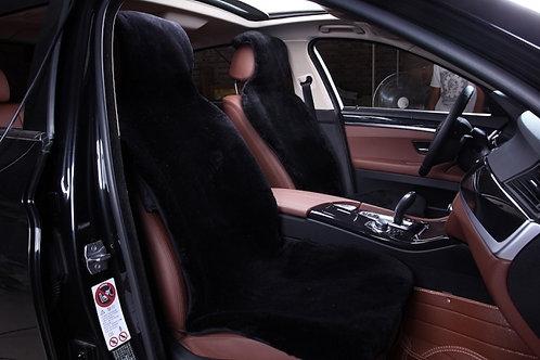 Меховые авто-накидки на передние сиденья.