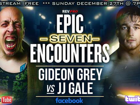 Gideon Grey Vs JJ Gale Signed for December 27th