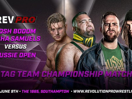 The war between Samuels/Bodom & Aussie Open Continues this Sunday
