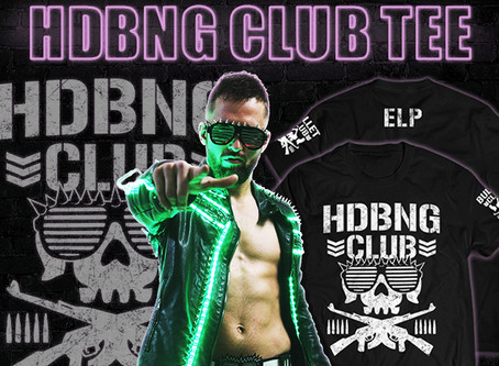 ELP, Shingo, Ospreay, BOSJ & more shirts available to pre-order now