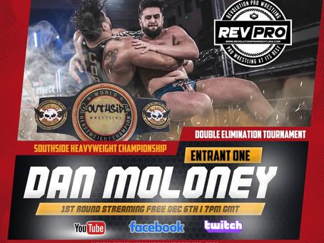 Dan Moloney Enters Into Southside Championship Tournament
