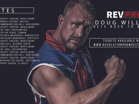 Doug Williams to return to RevPro In Ring Competition