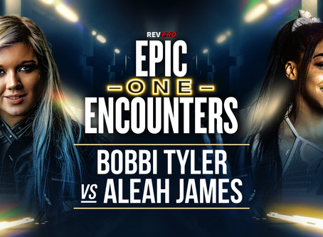 Bobbi Tyler & Aleah James both look to impress this Sunday on FITE!
