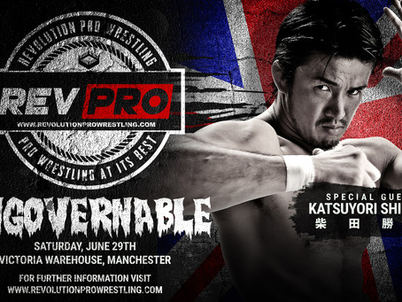 Huge news as SHIBATA will be in Manchester this June