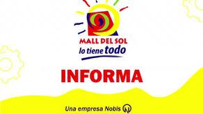 Mall Del Sol informa