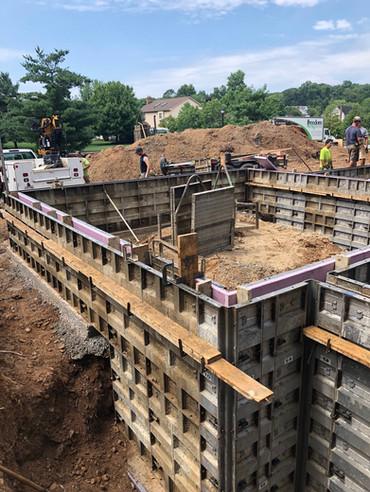 Concrete Poured Foundation
