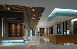 Hospital Space 3D Rendering