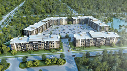 Condo 3D rendering visualized