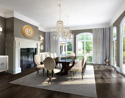 Oakville luxury home_dining room