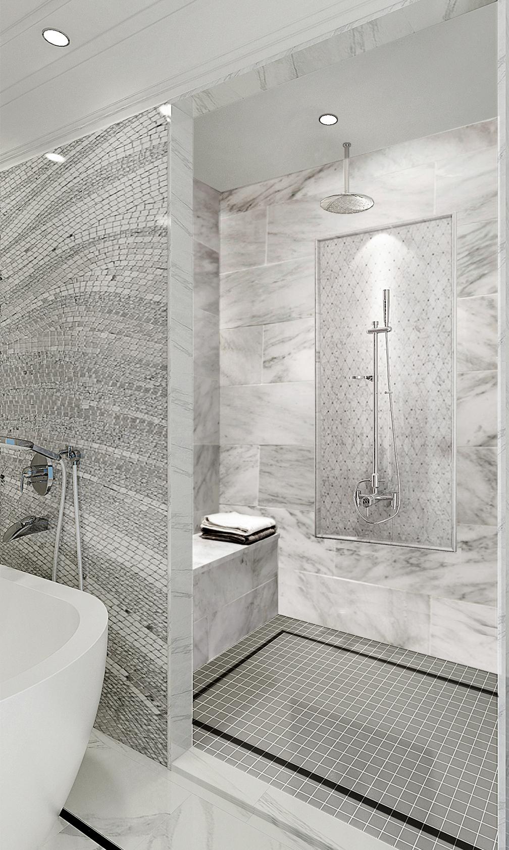 XL Design _shower rendering